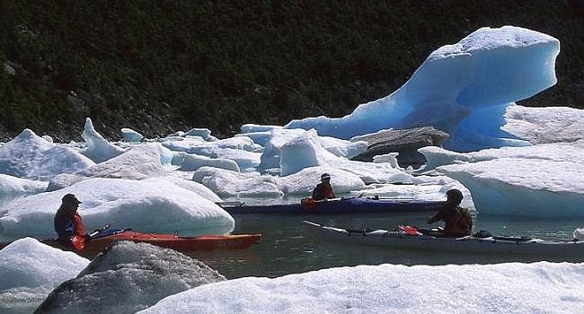 Glaciers Balmaceda au Chili