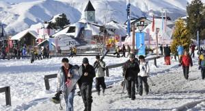 Station de ski au chili
